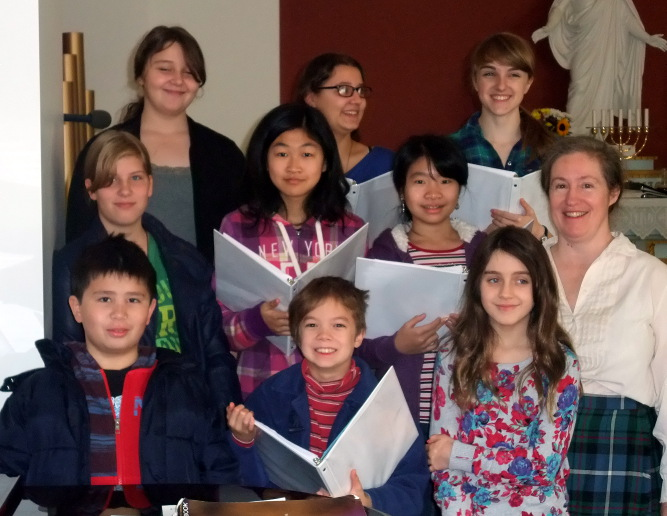 The Youth Choir, November 2012